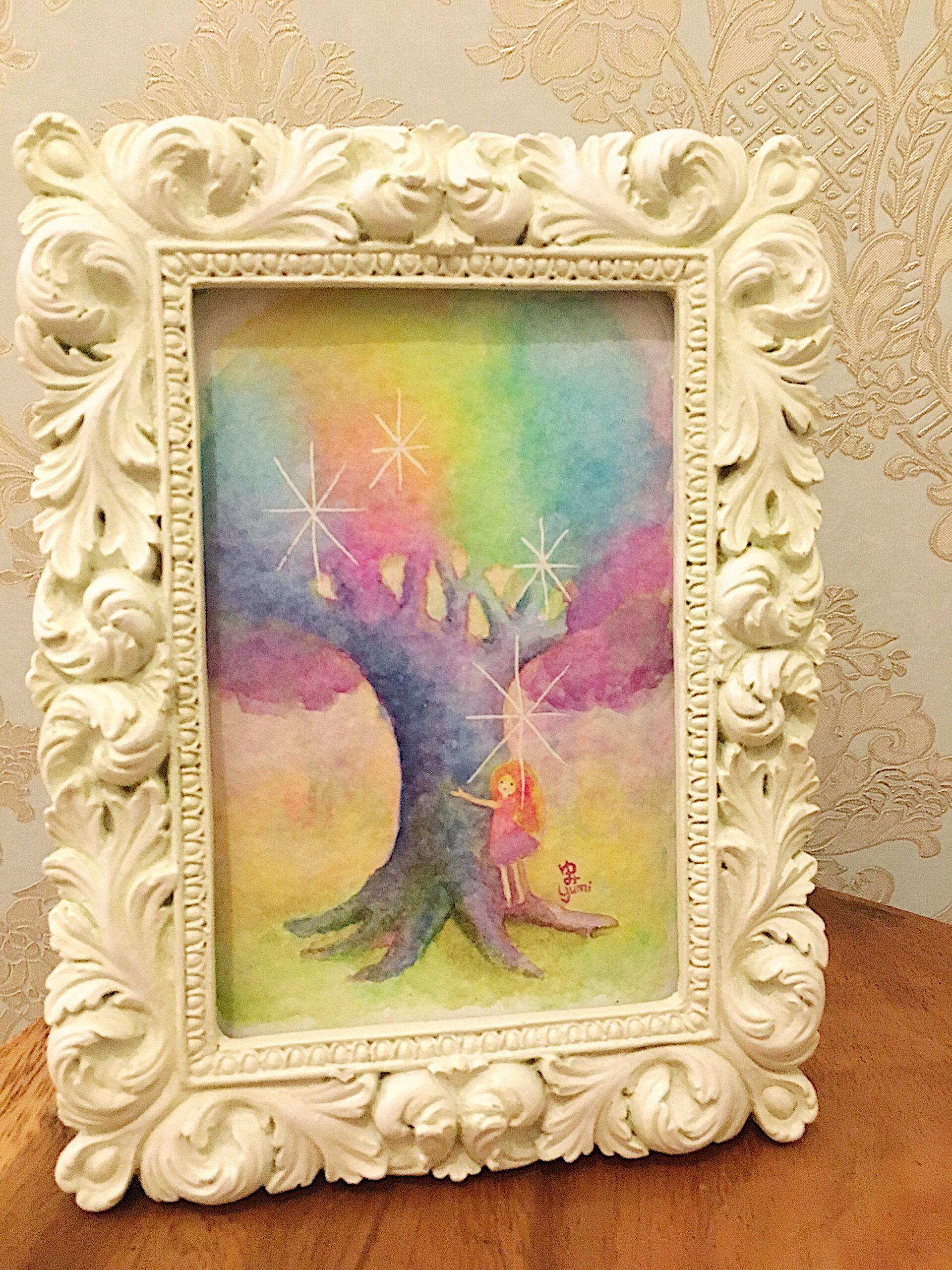 私の妖精インスピレーション《宇宙の木》_色味加工